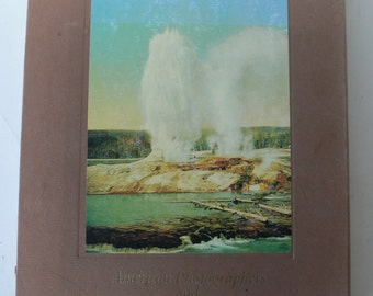 vintage book, American Photographers and The National Parks, 1981 from Diz Has Neat Stuff