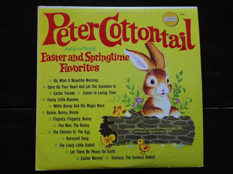 Vintage Retro Children S Vinyl Record Albums