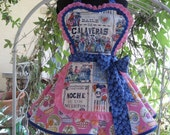 El Fandango Day of the Dead Pin up Apron for Taco Tuesdays