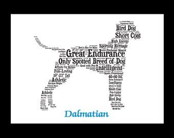 Dalmation, Dalmation art, Custom, Personalize, Pet Gift, Print, Dog Art, Pet Art, Pet Memorial