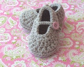 Baby Booties, Crochet Baby Shoes,