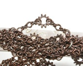 Industrial Chic Copper Chain Set of 2 Discount Jewelry Supplies Jewelry Supplies