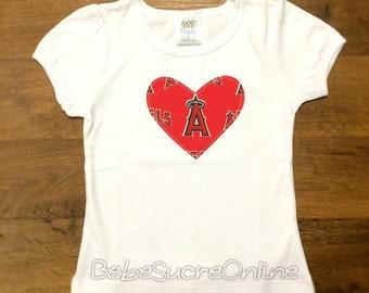 Los Angeles Angels Girls Top