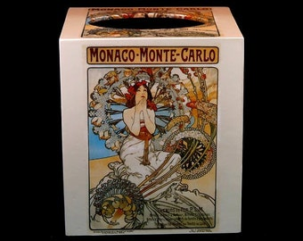 Tissue Box Cover Monaco - Monte Carlo