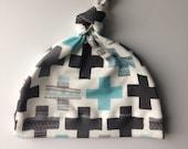 Organic baby knot hat