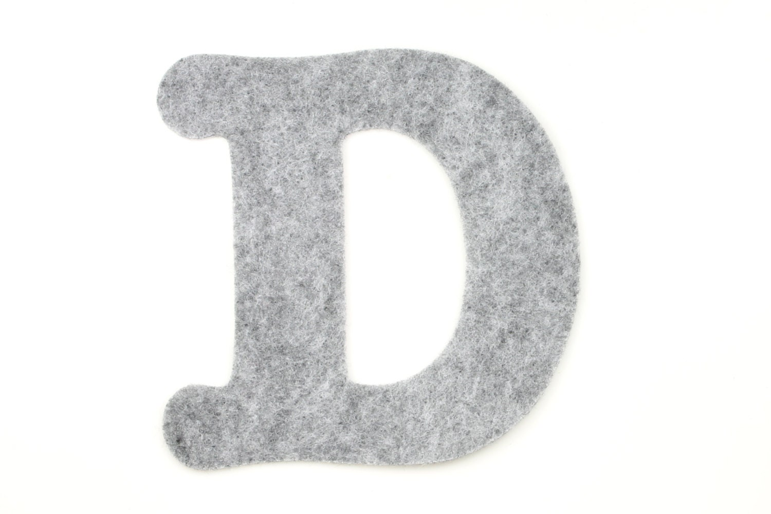 Felt letter d choose color felt letters felt for Felt letter sign