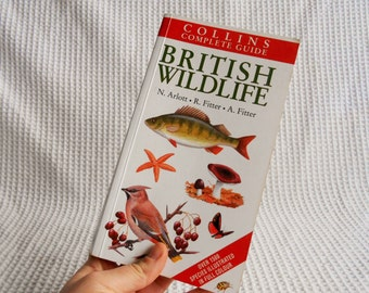 RESERVED British Wildlife Book Vintage 1994 Colour