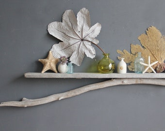 Natural Driftwood Mantle // 8 Feet Long