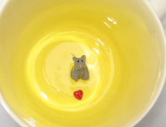 """Mouse with Heart  """"second"""" (In stock)"""