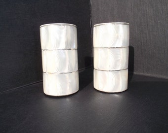 Vintage Mother of Pearl Shakers