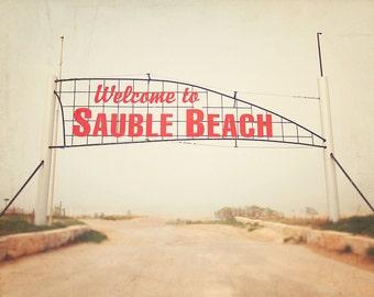 Sauble Beach, Canadian Beach, Ontario Beach, Beach Photography, Beach Art Prints, Sauble Beach Print, Beach in Canada, Beach in Ontario