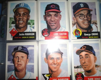 Topps 1991 Topps Baseball Archives The Ultimate 1953 Series Complete could be Topps Tiffany