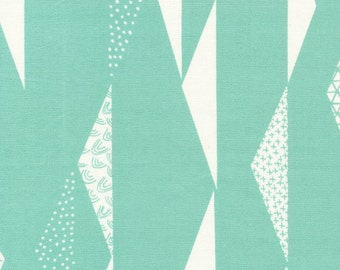 Cloud9 Organic Fabrics - Koi Canvas - Pennants Waving 1/2 YD