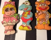 1985 // Muppet Babies Pillow Dolls