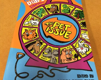 Not My Small Diary 18 - PETS - autobio anthology zine comics - all true stories! 148 pgs