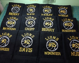 Volleyball Towels