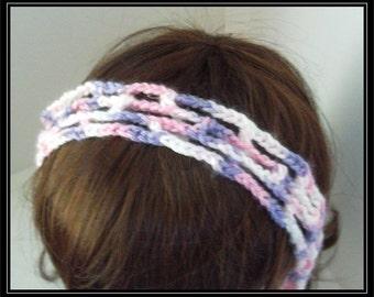 Boho Hippie Crocheted Mesh Headband! Ready to ship!