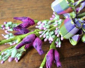 Purple and Lavender Millinery Flower Sprays