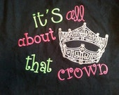 it's all about that crown t-shirt
