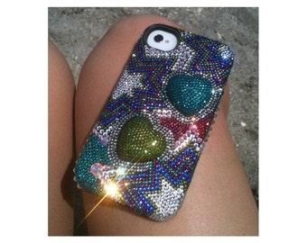 Custom Swarovski Crystal iPhone 5s Phone Case