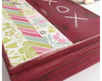 Chalkboard Paint, Painted, Red Jewelry Box, Little Girl Gift