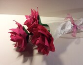 Duct Tape Valentine Flower Bouquet