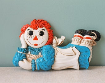 Vintage Raggedy Ann, Looking for Andy
