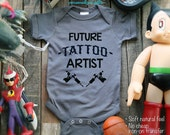 Future Tattoo Artist Baby One-Piece, Infant Tee, Toddler, Youth Shirts