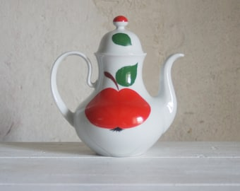 Vintage Teapot from Bavaria W. German Porcelain