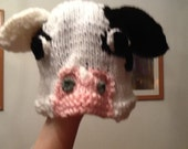 Custom listing for ADULT cow hat.
