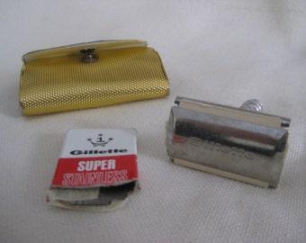 Vintage Gillette Travel Razor