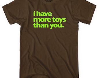 Toy Fanatic Tee - Men and Unisex - Rotofugi T-shirt - XS S M L XL 2x 3x 4x - 4 Colors