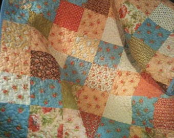 "A Beautiful 35"" X 44"" Quilt In The Moda Buttercup Line By Joanna Figueroa"