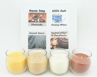 SALE Custom Mini Candle Gift Set