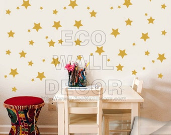 PEEL and STICK Removable Vinyl Wall Sticker Mural Decal Art - Stars on the sky