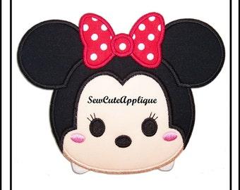 Tsum Tsum Minnie Mouse No Sew Applique Patch