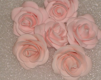 Small Gumpaste Rose Cake Toppers, Cup Cake Toppers and Cake Pops for Weddings