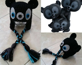 Crochet Black Bear Cub (Disney's Brave)