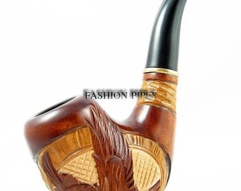 American Eagle. Rare Wooden pipes, Collection Tobacco pipe/pipes, Wooden tobacco Pipe. Carved American eagle ...Best Price...