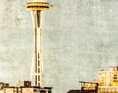 Seattle, Space Needle, Grunge, Pacific Northwest, 8 x 10 Photography