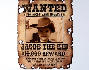 Custom Wanted Poster (11x14)