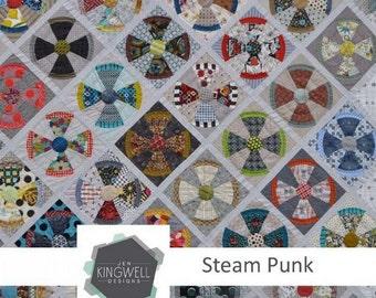 Jen Kingwell - Steam Punk Quilt Pattern