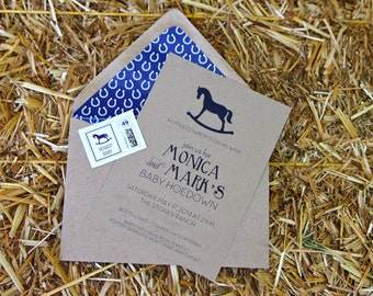 Howdy Baby Invitation : By Bloom Designs