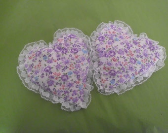 Lavender Scented Heat Pack Aromatherapy Sachets (2) in your choice of colors