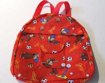Curious George Backpack for Toddlers