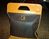 TED LAPIDUS PARIS Tote Bag 1970s Large