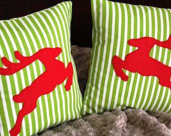 OH Deer Pillow Cover set 12x12