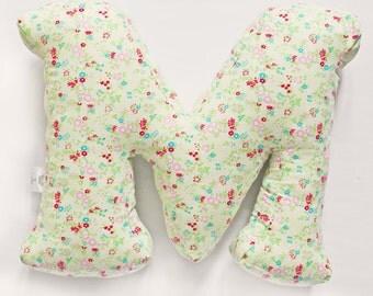 lovely letter pillow, personalized girls room