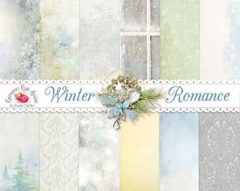 Winter Romance Paper Set
