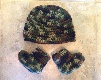Crochet Camo Set